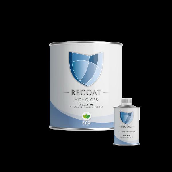Recoat high gloss 1 liter - met hardener